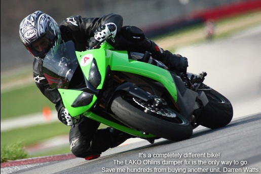 Ohlins Steering Damper OEM to Race Spec rebuild